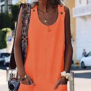 Tangerine Shift Dress